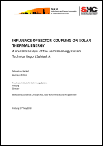 Influence of Sector Coupling on Solar Thermal Energy